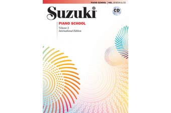 Suzuki Piano School, Vol 2: Book & CD (Suzuki Method Core Materials)