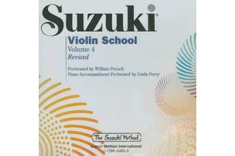 Suzuki Violin School, Volume 4 (Suzuki Method) [Audio]