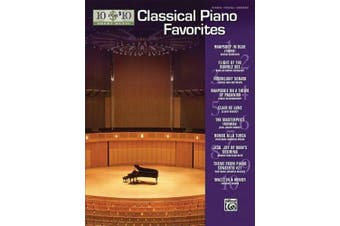 10 for 10 Sheet Music Classical Piano Favorites: Piano Solos (10 for 10 Sheet Music)