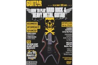 How to Play Hard Rock & Heavy Metal Guitar