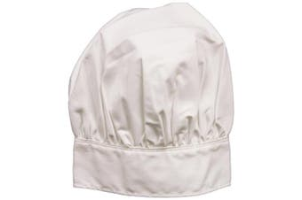 Wear'M Design Your Own, Adult Chefs Hat, White