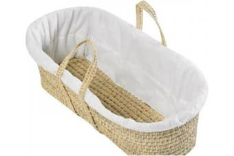 Clair de Lune Quilted Liner for Moses Baskets