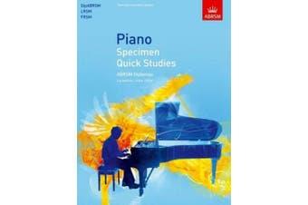 Piano Specimen Quick Studies: ABRSM Diplomas (DipABRSM, LRSM, FRSM) (ABRSM Sight-reading)