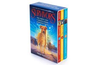 Survivors Box Set: The Empty City/A Hidden Enemy/Darkness Falls