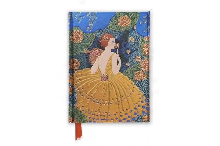 Erte: Winter Flowers (Foiled Journal) (Flame Tree Notebooks)