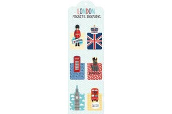 London Magnetic Bookmarks (Magnetic Bookmark)