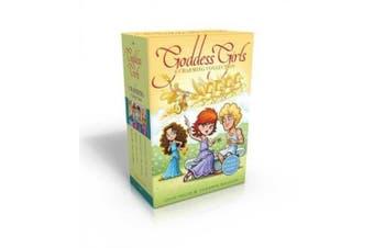 The Goddess Girls Charming Collection Books 9-12 (Charm Bracelet Included!): Pandora the Curious; Pheme the Gossip; Persephone the Daring; Cassandra the Lucky (Goddess Girls)