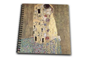 (12x12 memory book) - 3dRose db_45030_2 Famous Klimt Painting The Kiss-Memory Book, 30cm by 30cm
