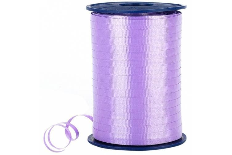 Morex Poly Crimped Curling Ribbon, 0.5cm by 500-Yard, Lavender