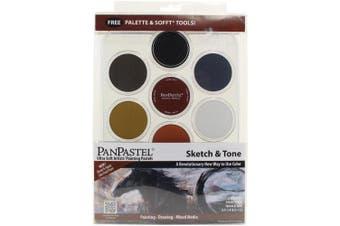 (Sketch & Tone) - Panpastel 7 Colour Sketch & Tone Set
