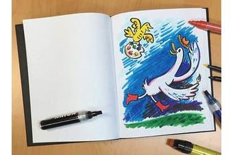 (22cm  x 28cm ) - RENDR No Show Thru Hardcover Sketch Book 22cm x 28cm