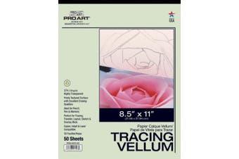 (22cm  by 28cm ) - Pro Art Tracing Vellum Paper Pad