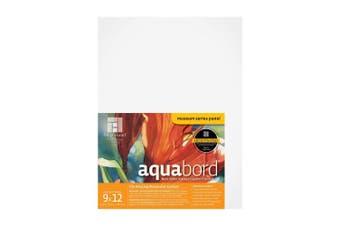 (9x12, White) - Ampersand Aquabord 23cm . x 30cm . each