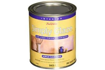 (1) - True Value SACG0.9l Simply Glaze Acrylic Clear Glaze for Faux Finishing