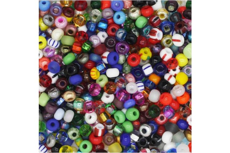 Czech Glass Seed Bead ~ Size 6/0 (e bead) ~ Vial Tube Multi Mix Colours & Finishes