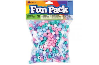 (Оne Расk) - Cousin Pastel Colour Mix Pony Bead Fun Pack