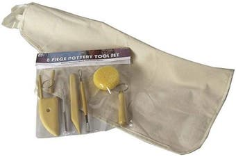 (Pottery Tool Kit With Apron) - Art Advantage Pottery Tool Kit