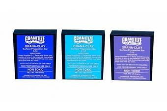 Granitize C-12P Auto Grana Clay - Heavy Duty - Purple - 180 gramme bar