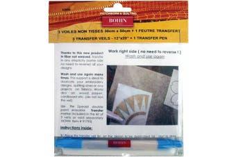 Bohin Transfer Veil & Pen Set