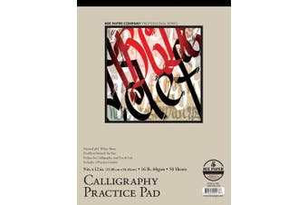 Bee Paper Calligraphy Practise Pad, 28cm by 36cm