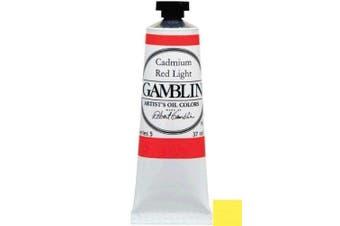(Single 37ml Tube, Cadmium Lemon) - Gamblin Artist Oil 37Ml Cadmium Lemon