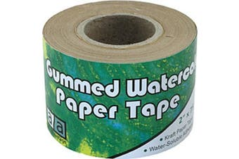 (1, White) - Art Advantage Gummed Paper Tape 7.1cm x 82 ft