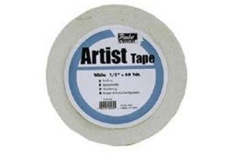 Economy White Artists Tape 0.6cm X 60yds