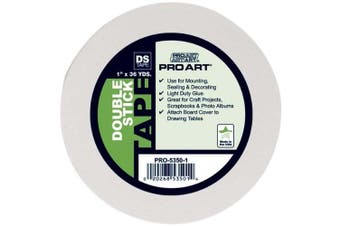 (2.5cm  by 36-Yard) - PRO ART 2.5cm by 36-Yards Double Stick Tape