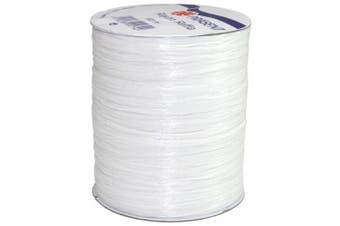 (100 yards, White) - Morex Ribbon Rayon Raffia Fabric Ribbon Spool, 100-Yard, White