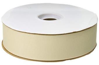 (Cream) - Berwick Offray 2.2cm Grosgrain Ribbon, Cream White, 100 Yards