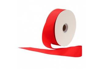 (Red) - Berwick Offray 2.2cm Grosgrain Ribbon, Red, 100 Yards
