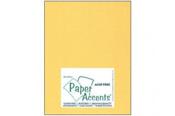 Accent Design Paper Accents PearlCardstock851122ktGold Cdstk Pearlized 8.5x11 105# 22kt Gold