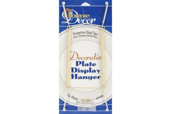 (14.0 Inches, Gold Tone) - Darice Decorative Plate Display Hanger Expandable - in your choice of colours