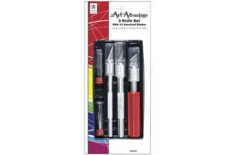 (Knives and Blades 13 Piece Set) - Art Advantage Knife Set