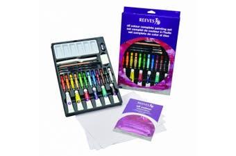 (Oil Colour) - Reeves Oil Colour Complete Set