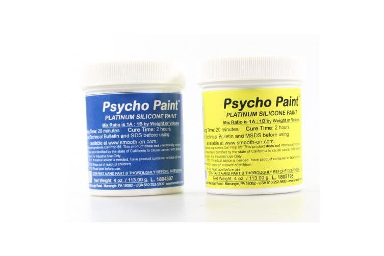 (240ml) - Smooth-on PSYCHO PAINT Platinum Silicone Paint Base - 240ml kit