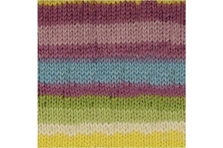 (Sweet Stripes) - Patons Kroy Socks Yarn - (1) Super Fine Gauge - 50ml - Sweet - For Crochet, Knitting & Crafting