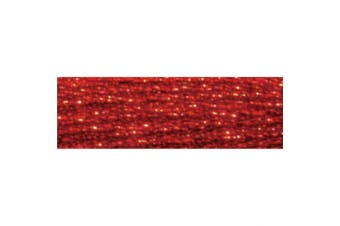 (Red) - DMC Light Effects Embroidery Floss 8.7yd