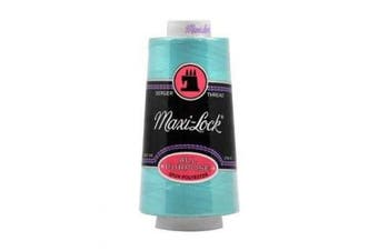 (Queens Turquoise) - American & Efird 51-32210 Maxi-Lock Cone Thread 3000 Yards-Queens Turquoise