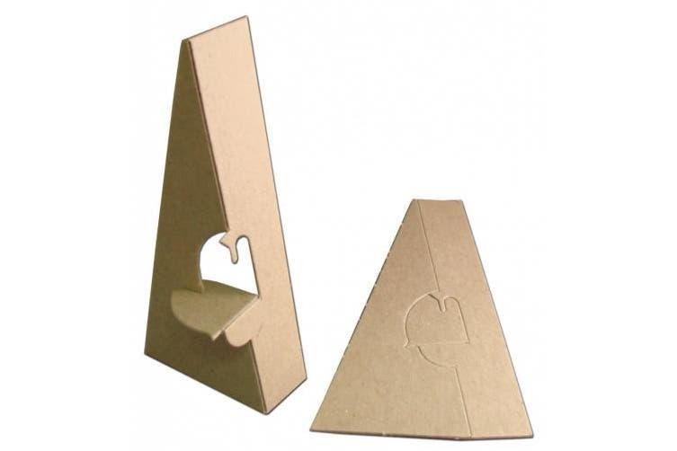 Inovart Picture-It Single Wing Chipboard Easels 20cm