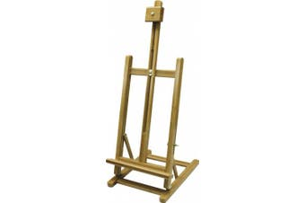 Art Advantage H Frame Bamboo Table Easel