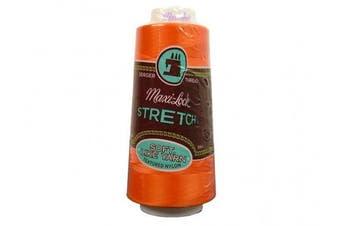 A & E Maxi Lock Stretch Thread 2000yd Papaya