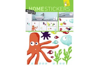 (Octopus) - Home Stickers Wall Stickers