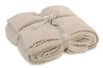 (Stone) - Barefoot Dreams CozyChic Throw - All Colours