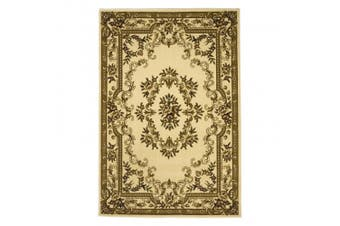 (ivory, 2.25x3.25ft.) - KAS Oriental Rugs Corinthian Collection Aubusson Area Rug, 0.6m x 0.9m, Ivory