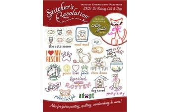 (Raining Cats & Dogs) - Stitcher's Revolution Iron-On Transfers