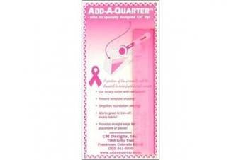 CM Designs Ruler 15cm Add-A-Quarter Pink