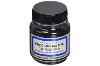 (Bright Blue) - Jacquard Products Procion MX Dye, 60ml, Bright Blue