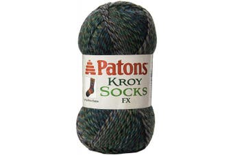 (Cascade Colors) - Patons 243457-57210 Kroy Socks FX Yarn, Cascade Colours