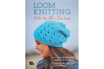 (Loom Knitting) - Authentic Knitting Board Loom Knitting with the All-n-One Loom